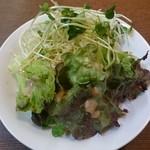 てんしん美咲店 - サラダ(ビュッフェ)2015年1月