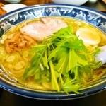金丸本店 - 鶏塩ラーメン
