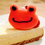 サンデーブランチ - かえるのピクルスのチーズケーキ