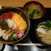海鮮庄兵衛 - 料理写真:庄兵衛丼+たぬきうどん(ランチで)