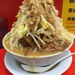 ラーメン影郎 - 大(400g)ニンニク少し、野菜マシ、アブラマシ