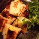 GINZA我歩 - 下仁田ネギの炒め物