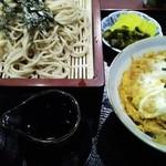 そば処 一休庵 - 料理写真:カツ丼ざるそばセット