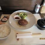 前田屋 - 黒毛和牛ハンバーグランチ