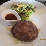 前田屋 - 黒毛和牛ハンバーグ