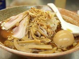 覆麺 智 - 味玉覆面