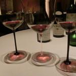 レストラン ラ フィネス - 続いて、ブルゴーニュ、ロワール、ボルドーの三種平行対比