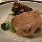 レストラン ラ フィネス - チュルボと京野菜