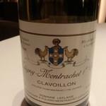 レストラン ラ フィネス - チュルボには       2002 PULIGNY MONTRACHET CLAVOILLON       Domaine Leflave