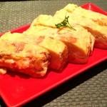 おず smoked和taste - とろーり燻製明太子クリームチーズの出汁巻き玉子