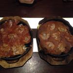 岡崎にこにこ餃子 - チーズ餃子と普通の餃子。トイレ覚悟