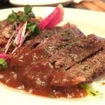 フュージョンバル ペス - マグロホホ肉ステーキ