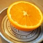 寿し寅 - 食後のオレンジ