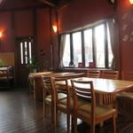 cafe 茶豆 - オサレな店内