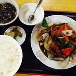 品珍園 - 黒酢豚定食850円税込