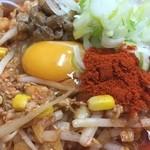 柳家 - キムチ様、納豆様、そして味噌仕立てのスープ様で全部発酵食品(笑)