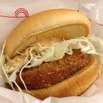 モスバーガー - チキンバーガー 280円☆(第二回投稿分①)