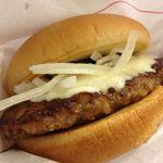 モスバーガー - とびきりハンバーグサンド「チーズ」 390円☆(第二回投稿分②)