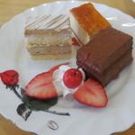 かぼちゃ - ケーキ三種