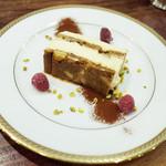 34320884 - ケーキセット(1500円・外税)のチーズケーキ