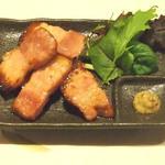 牡蠣三味 - 厚切りベーコン