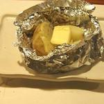 牡蠣三味 - じゃがバター