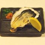 牡蠣三味 - お通し