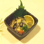 牡蠣三味 - 牡蠣ポン酢