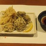牡蠣三味 - 天ぷら三昧