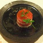 牡蠣三味 - マグロのミルフィーュ