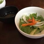 オーガニック カムー - 料理写真:サラダ