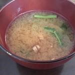 オーガニック カムー - 味噌汁