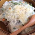 オーガニック カムー - 本日のご飯(ドリア)