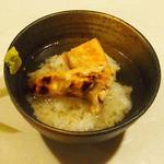 牡蠣三味 - 鮭茶漬け