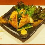 牡蠣三味 - 定義山の三角油揚げ