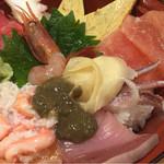 魚旨 - 近江町市場丼 1900円
