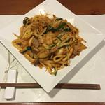 牡蠣三味 - キムチ焼うどん