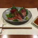 牡蠣三味 - 刺身三昧