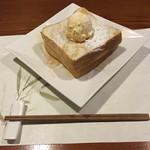 牡蠣三味 - ハニートースト
