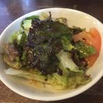 かざみどり風流 - 定食のサラダ