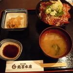 丸冨水産 - ランチの鉄火丼 780円(税別)