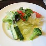馬車道 - 10種野菜のリーフサラダ