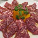 焼肉万福 - ハラミ