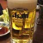 鉄ノ四 - 生ビール430円