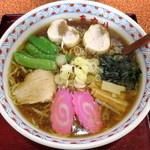味の五六八 - 料理写真:石狩鮭醤油ラーメン_730円
