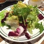 フライングガーデン 岩槻店 - セットのサラダ