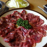 焼肉ウエスト - 料理写真:ハラミ アップ。