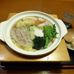 和風レストラン そうま - 鍋焼きうどん(1058円)_2015-01-14