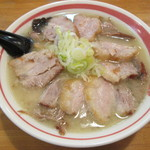 らーめん六文銭 - チャーシュー麺(塩)