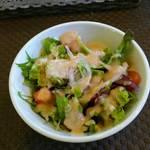 Kuranchi - セットのサラダ
